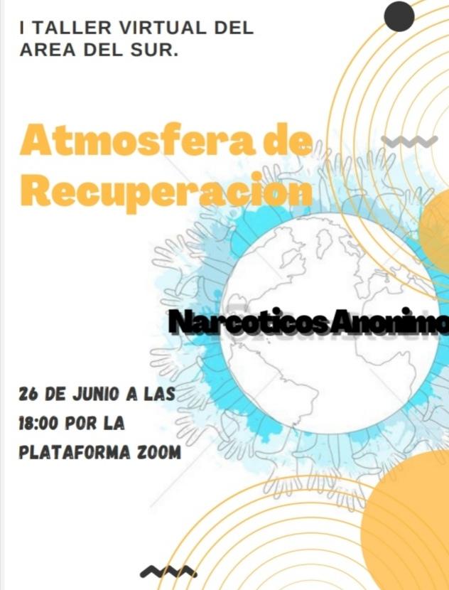 1º TALLER VIRTUAL DEL AREA DEL SUR - ATMOSFERA DE RECUPERACIÓN